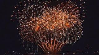 Feuerwerk - Hamburg - Japanisches Kirschblütenfest - 22.05.2015