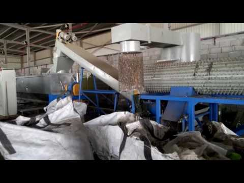 Garbage sorting production line in Vietnam