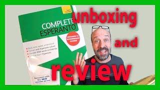 Complete Esperanto - Unboxing and Review (video intro in Esperanto)