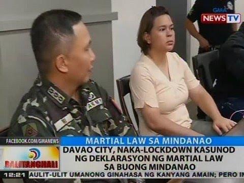 BT: Davao City, naka-lockdown kasunod ng deklarasyon ng Martial Law sa buong Mindanao
