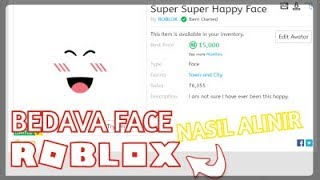 HOW TO GET ROBLOX FREE FACE / VOTE VEYSEL ACET / ROBLOX TURKEY