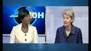 Entretien avec Irina Bokova, DG de l
