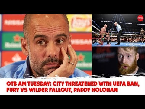WATCH: Fury-Wilder fallout, Football Trouble, Irish Basketball, Christmas Racing | Tuesday's #OTBAM