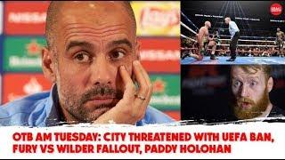 WATCH: Fury-Wilder fallout, Football Trouble, Irish Basketball, Christmas Racing | Tuesday's #OTBAM