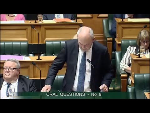 Question 9 - Phil Twyford to the Minister for Infrastructure
