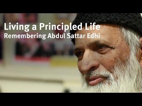 Shaykh Yasir Fahmy - Living a Principled Life Remembering Abdul Sattar Edhi