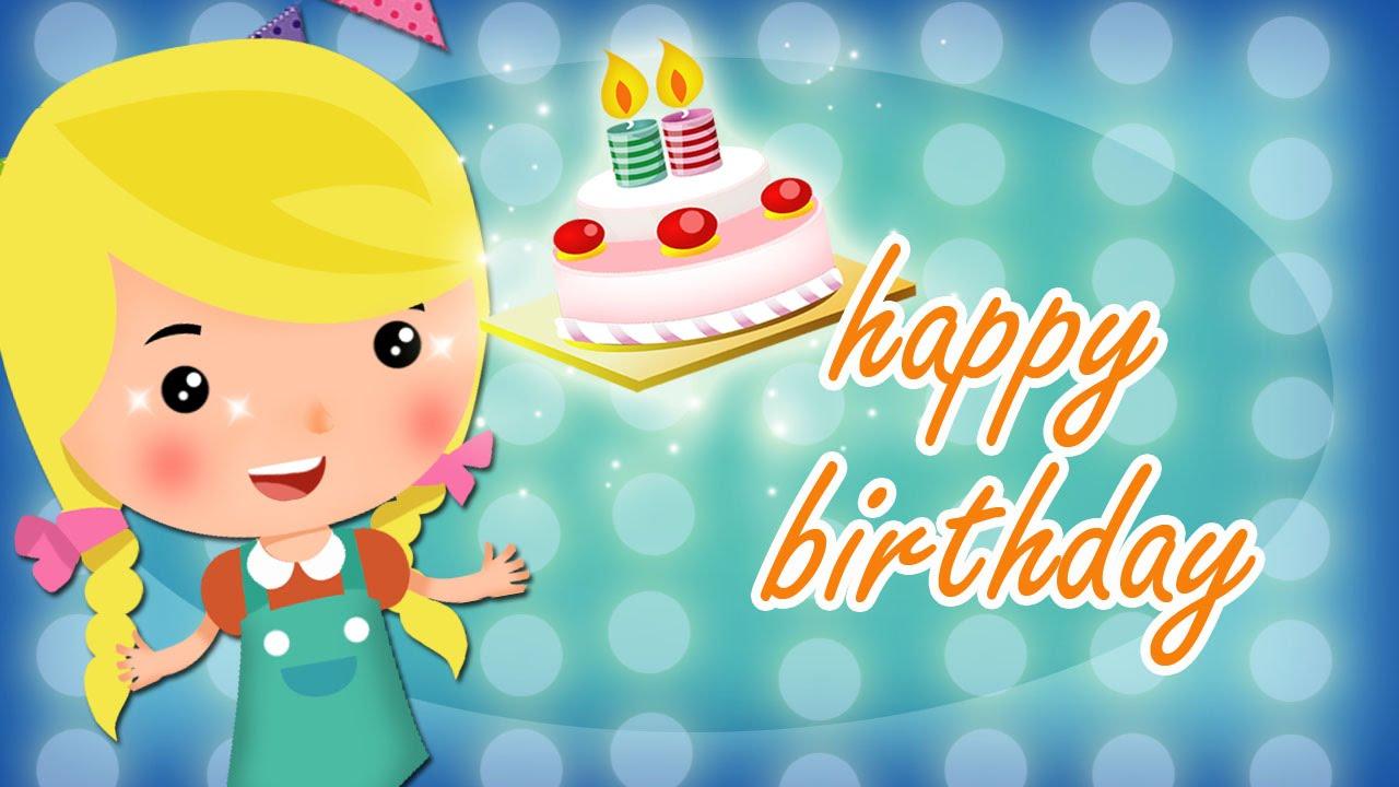 Happy Birthday Song For Children