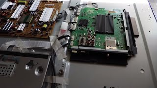 LED LCD TV FIX/REPAIR - NO Picture - NO Sound - TV Power Light IS ON