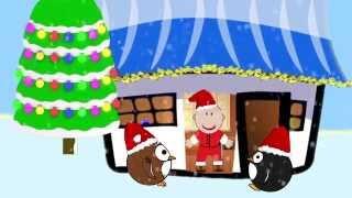 Развивающие мультики. Смышлёныши. Где живёт Дед Мороз? Развивающие мультики для самых маленьких.