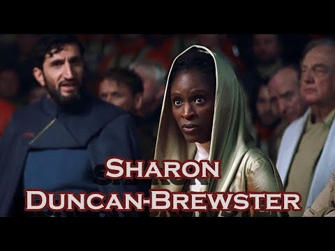 Sharon Duncan-Brewster (Rogue One). Questions