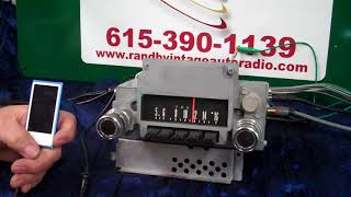 1966 Ford Fairlane original AM radio