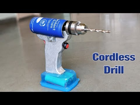 How to Make a Cordless Drill at home