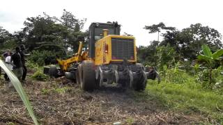 Tractor- Ground Breaking for Chicken Coups