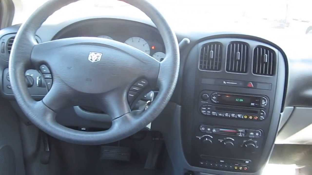 2006 Dodge Grand Caravan Red Stock M1401801 Interior