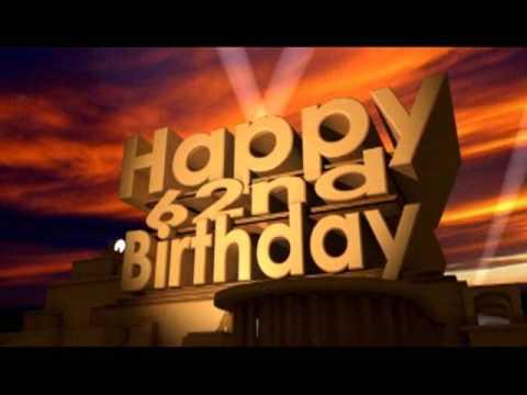 Happy 62nd birthday youtube happy 62nd birthday m4hsunfo