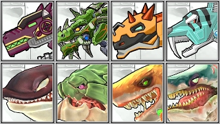 Dino Robot Corps + Hungry Flying Zombified Shark - Full Game Play - 1080 HD
