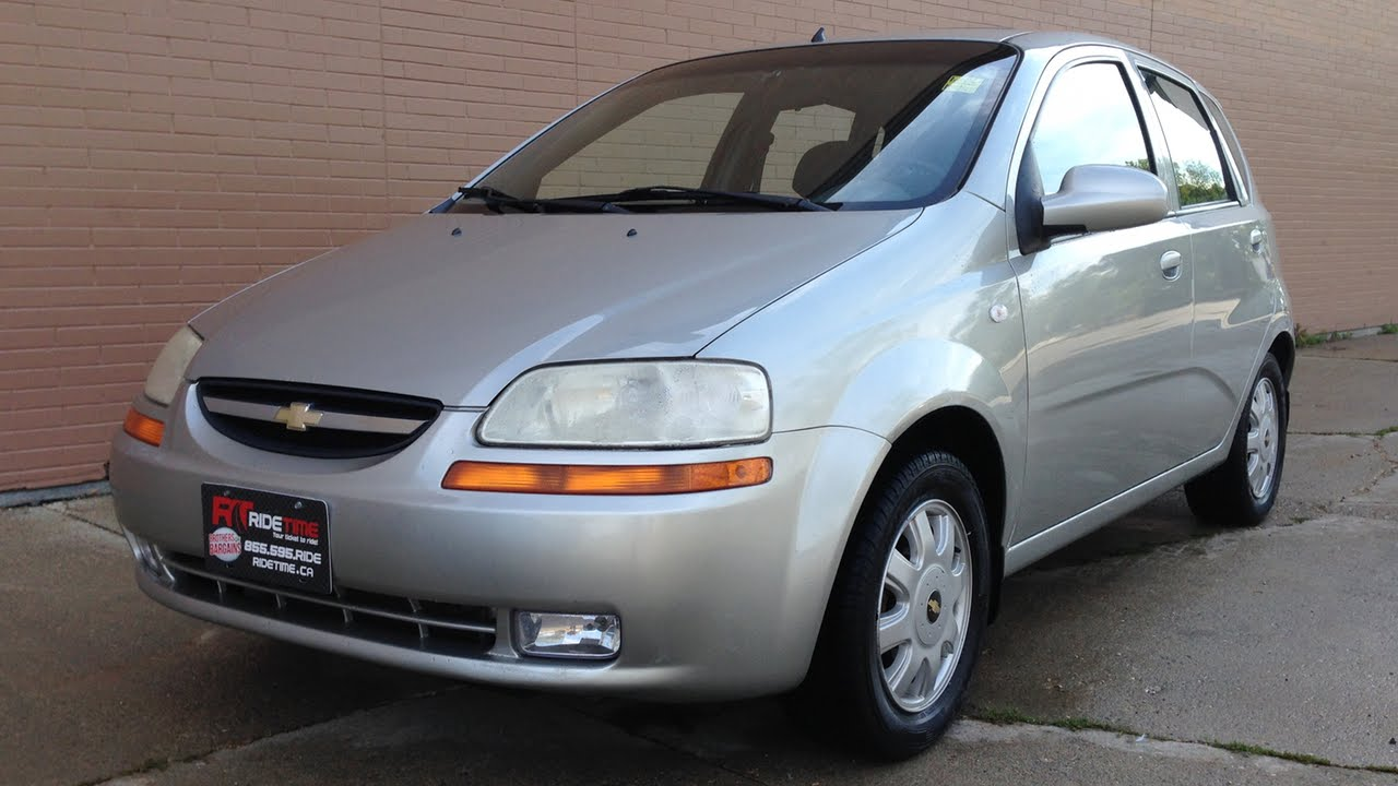 2005 Chevy Aveo Lt - Automatic  Alloy Wheels  Sunroof  A  C