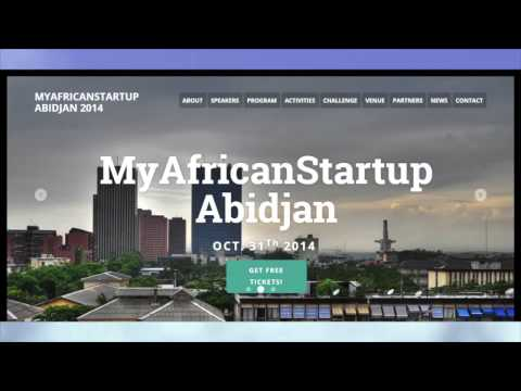 MyAfricanStartup - presentation by a great Entrepreneur from Nigeria