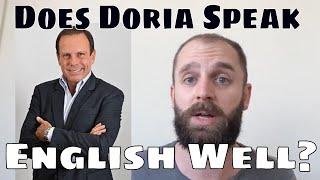 Baixar Does João Doria Speak English Well?