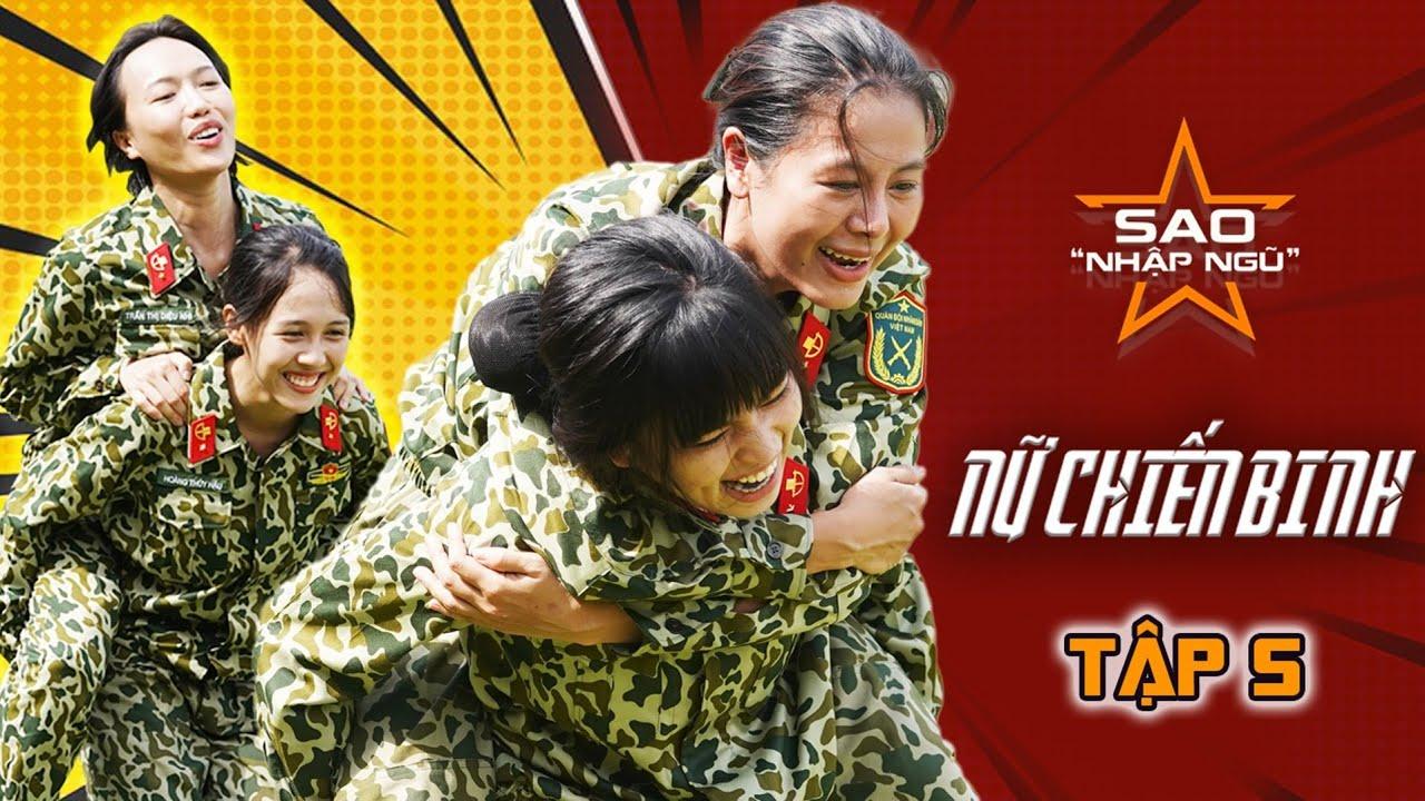 Sao nhập ngũ 2020 | Tập 5 |Nam Thư chấn thương nặng, Diệu Nhi, Hậu Hoàng cảm phục chiến sĩ đặc công!