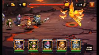 Heroes Charge: Burning Phoenix VI Team 9