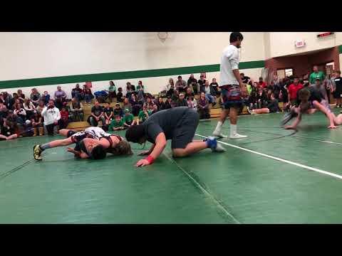 Gabe Hungerford Belgrade Middle School Mixer match 2