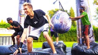 SIDEMEN INFLATABLE WRECKING BALL!