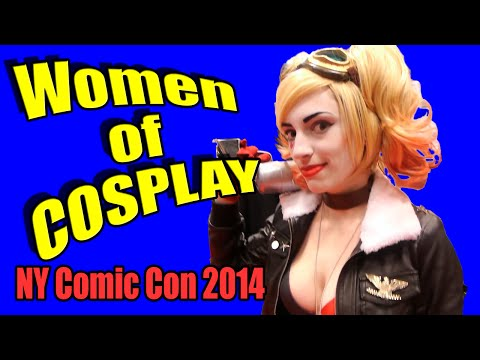 Women of Cosplay - New York Comic Con 2014