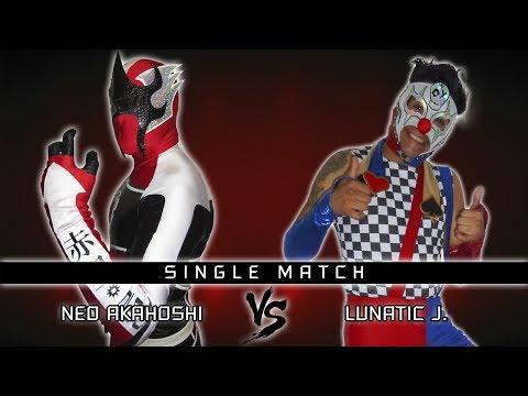 Lucha Libre - Anarquia 2017 - Neo Akahoshi Vs Lunatic J. (Full Match)