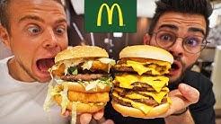 On mange les burgers secrets du McDo (feat. Alan FoodChallenge)