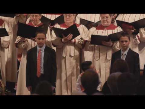 Hosanna, Loud Hosanna by Children,Chancel and Bell Choir