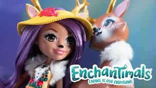 Enchantimals | Knock Antlers! | Danessa Deer Doll & Sprint Figure