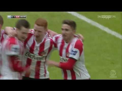 Fabio Borini Goal vs Man City Capital One Cup Final