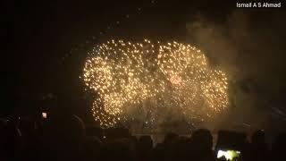 Fêtes de Genève 2017 - Grand Feu d'artifice - Musique HD