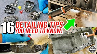 16 Top Car Detailing Tips You NEED To Know Before Your Next Car Detail - How To Detail Your Car
