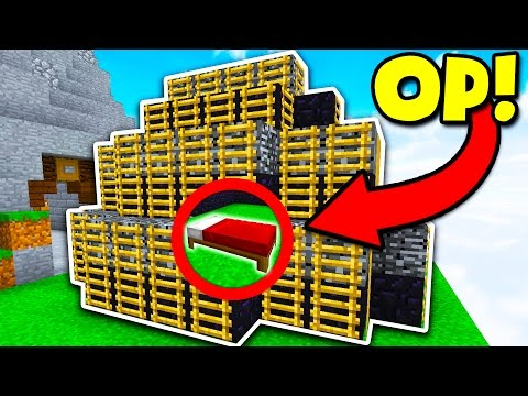 BEST OBSIDIAN BASE DEFENSE CHALLENGE! (Minecraft BED WARS)