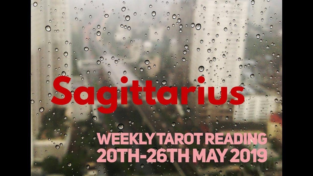 sagittarius weekly 20 to 26 horoscope tarot