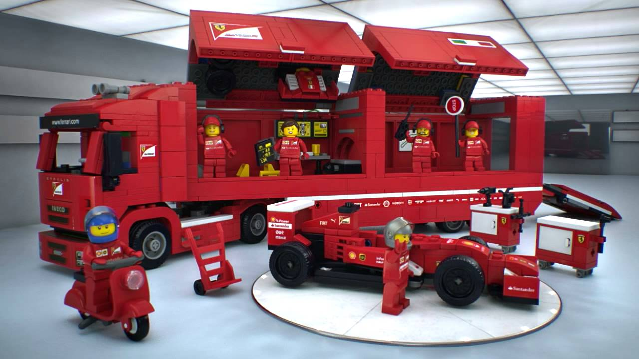 ferrari f14 t scuderia ferrari truck lego speed. Black Bedroom Furniture Sets. Home Design Ideas