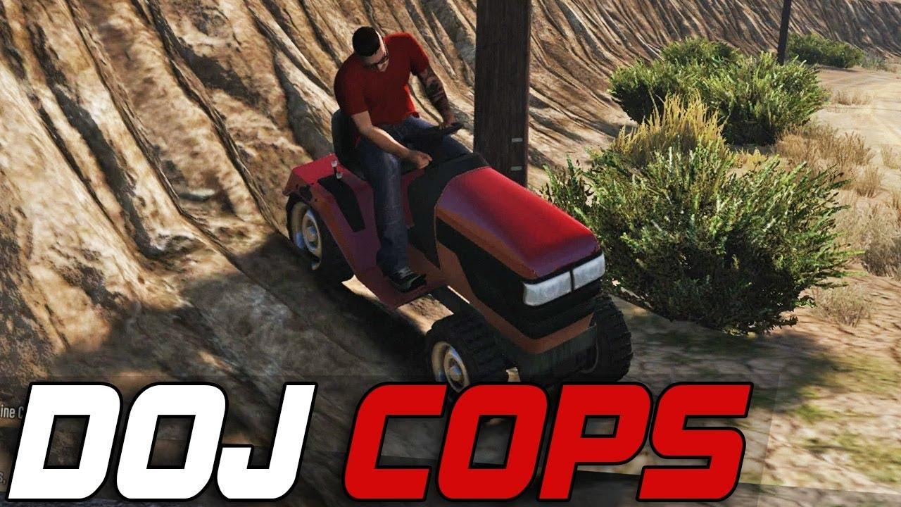 Dept  of Justice Cops #251 - Mower Madness (Criminal