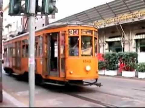Trams in Milano