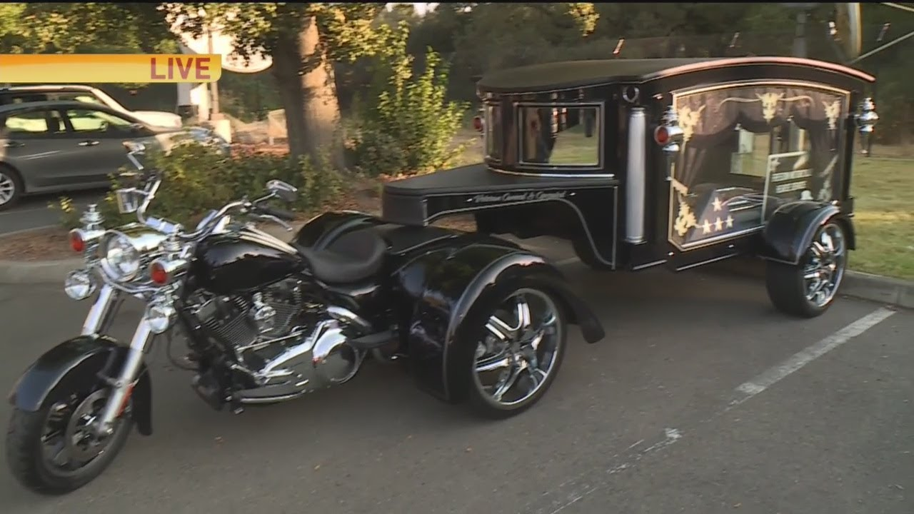 Freedom Motorcycle Hearse