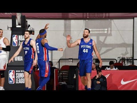 Detroit Pistons Summer League Highlights 2019