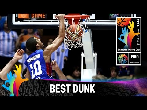 Argentina v Philippines - Gabe Norwood's Poster Dunk - 2014 FIBA Basketball World Cup
