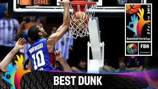 argentina v philippines gabe norwood s poster dunk 2014 fiba basketball world cup