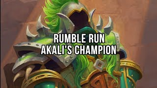 Rumble Run - Akali's Champion