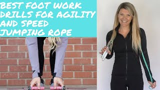Best Footwork Jump Rope Drills for Speed and Agility