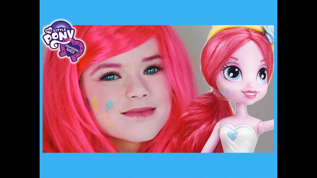 My Little Pony Pinkie Pie Makeup Tutorial Equestria Girls -3428