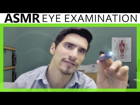 ASMR Eye Examination Optometrist Role Play 3Dio Binaural