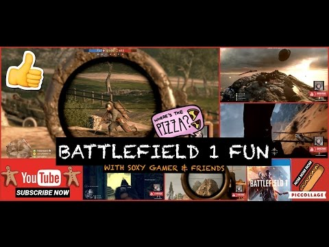 BATTLEFIELD 1 (PS4) CHRISTMAS EDITION with SOXY GAMER & WYLD MEDIC