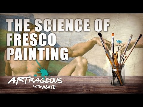 Michelangelo & The Science of Fresco Painting | Chemistry